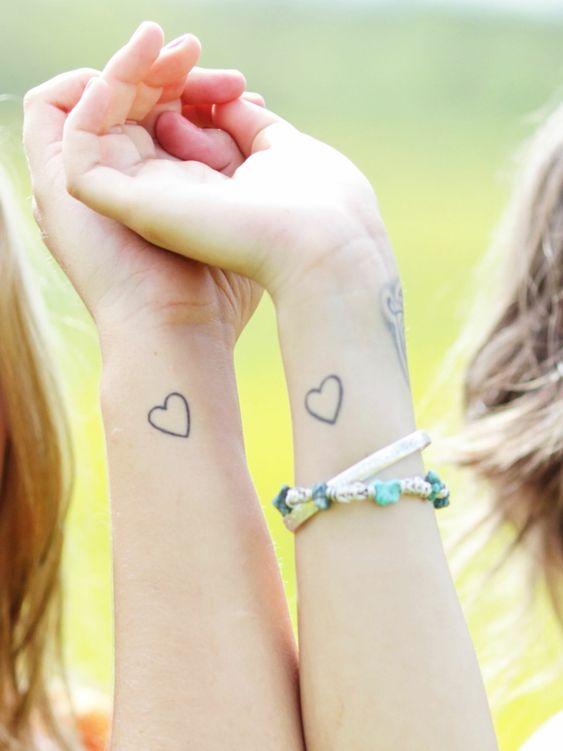para amigas chiquitos 1 - Tatuajes para amigas