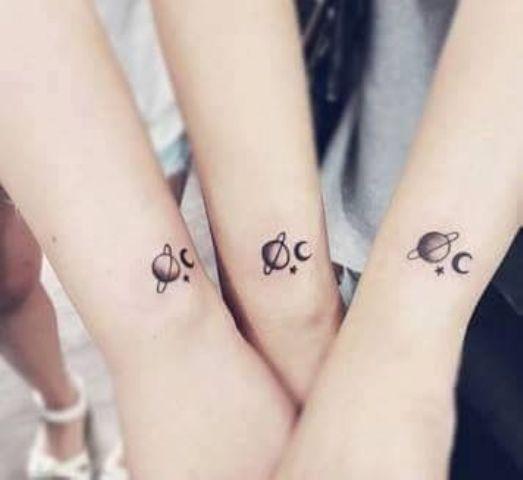para amigas - Tatuajes para amigas