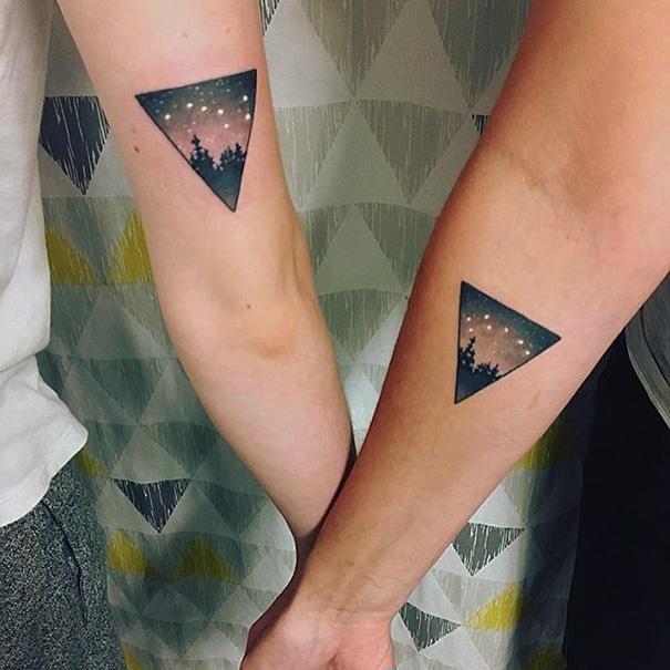 para hacerse con amigas 2 - Tatuajes para amigas