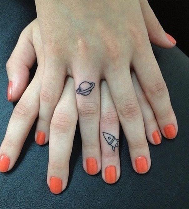 para hacerse con amigas 4 - Tatuajes para amigas