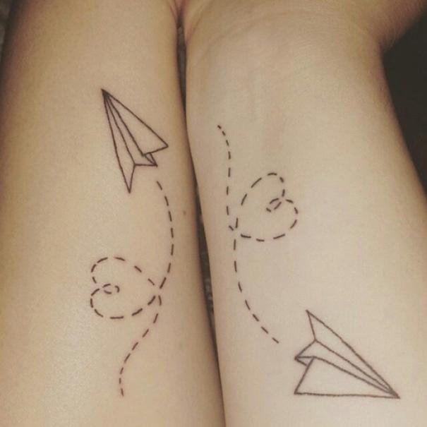 para hacerse con amigas 5 - Tatuajes para amigas