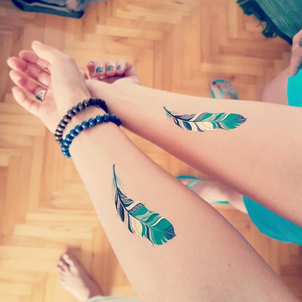 para hacerse con amigas - Tatuajes para amigas