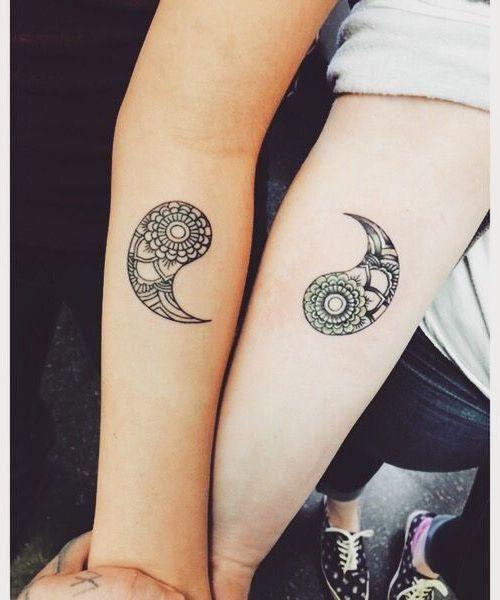 para hermanas 4 - tatuajes para hermanas