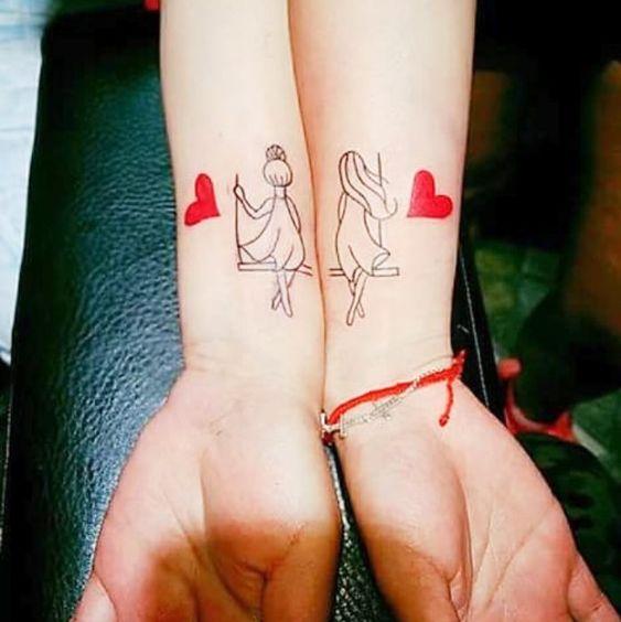para hermanas 6 - tatuajes para hermanas