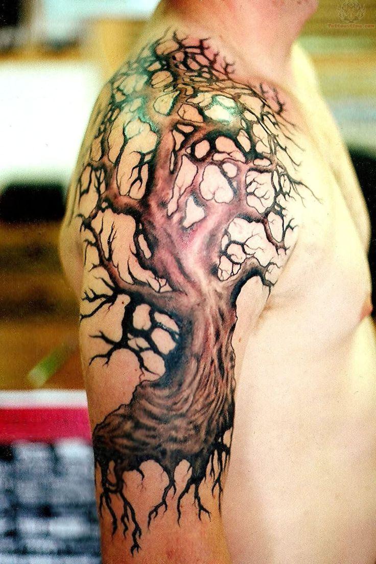 secos o muertos 9 - tatuajes de árboles