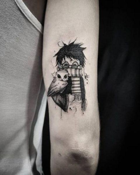tinta china 4 - tatuajes de tinta blanca
