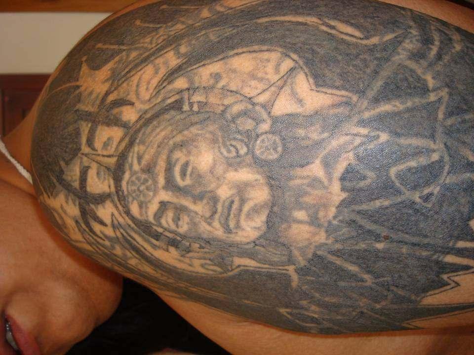 vegetal 4 - tatuajes de tinta blanca