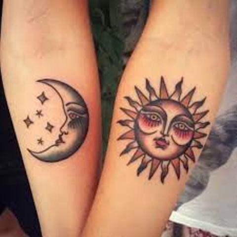 imagenes de sol y luna 1