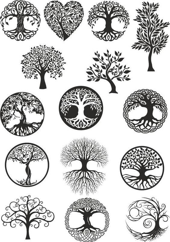 diseños arbol de la vida 2