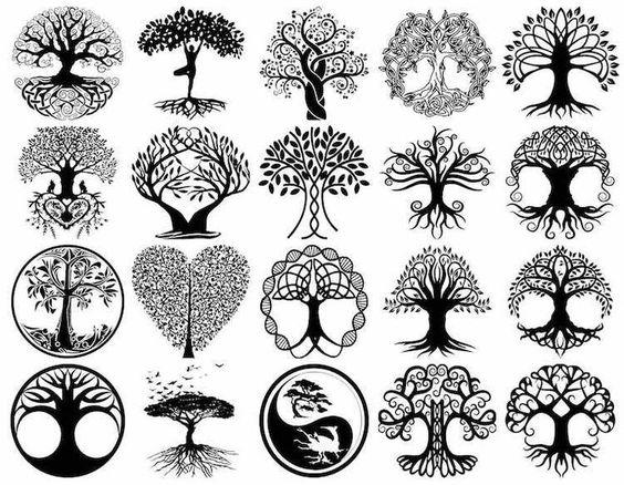 diseños arbol de la vida 4