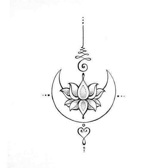 diseños de unalome 6 - tatuajes de unalome