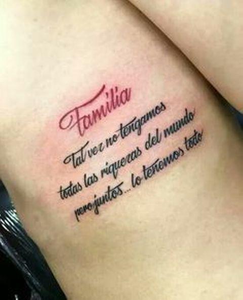 84 Ideas De Tatuajes De Familia Con Significados Tatuajes