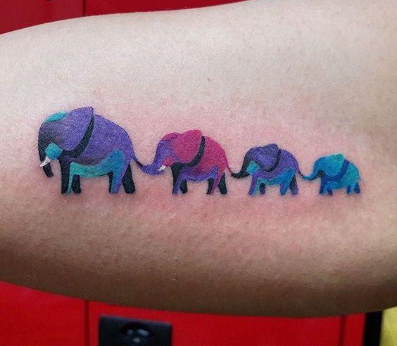 familia de elefantes 1