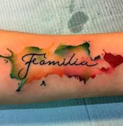 familia en el brazo 3 - tatuajes de familia