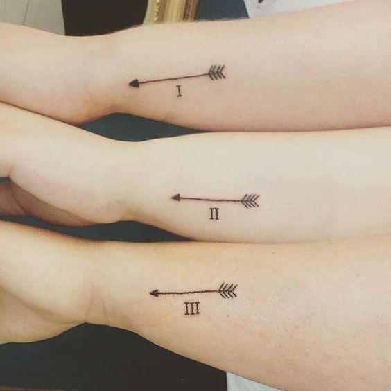 familia para 3 3 - tatuajes de familia