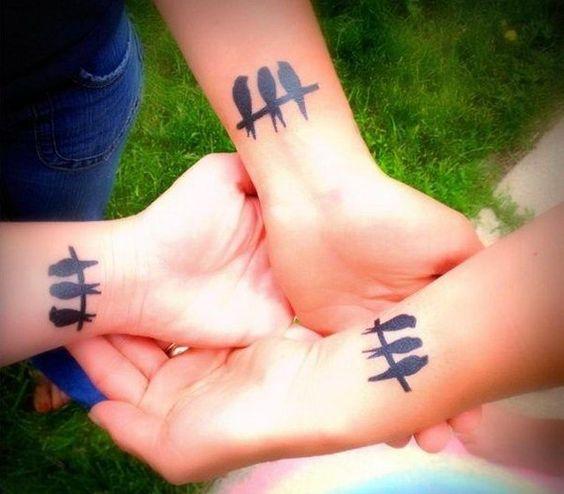 familia para 3 5 - tatuajes de familia