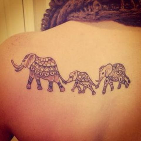 familia para 3 - tatuajes de familia