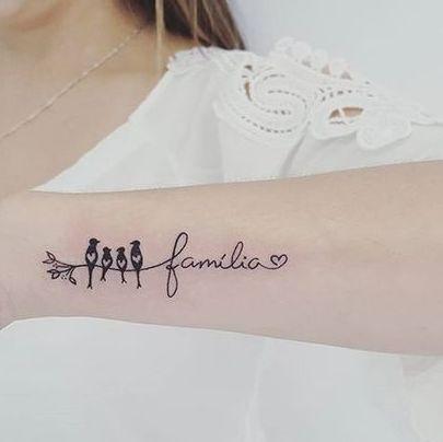 familia para mujer 2 - tatuajes de familia