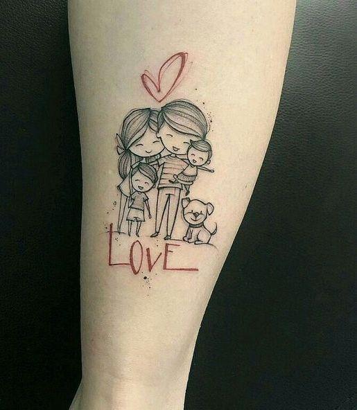 familia unida 2 - tatuajes de familia