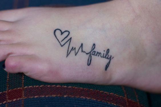 palabra familia 2 - tatuajes de familia