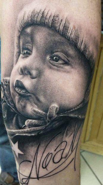 retratos familiares 3 - tatuajes de familia