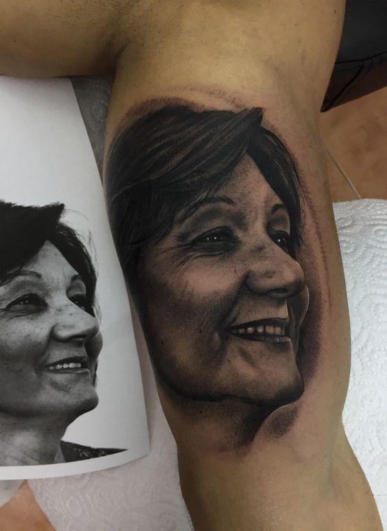 retratos familiares 4 - tatuajes de familia