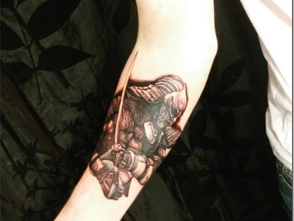 para mujeres 2 - tatuajes de samurai