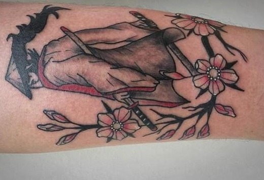 para mujeres 3 - tatuajes de samurai