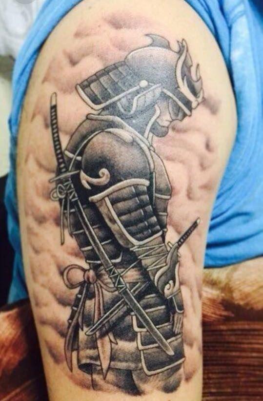 parta hombres 1 - tatuajes de samurai