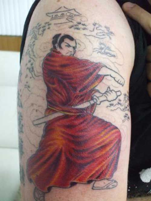 parta hombres 2 - tatuajes de samurai