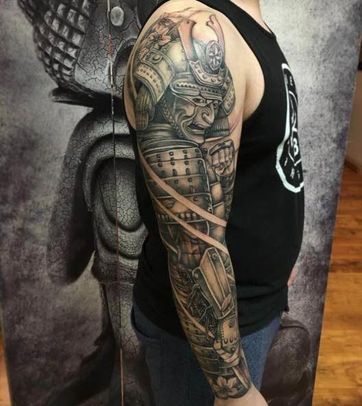 samurais en brazo 3 - tatuajes de samurai