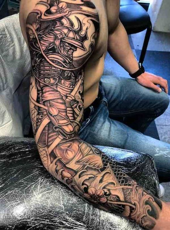 samurais en brazo 5