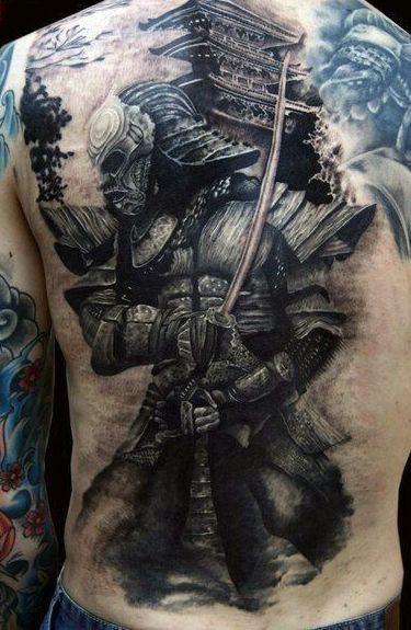 samurais guerreros 4 - tatuajes de samurai