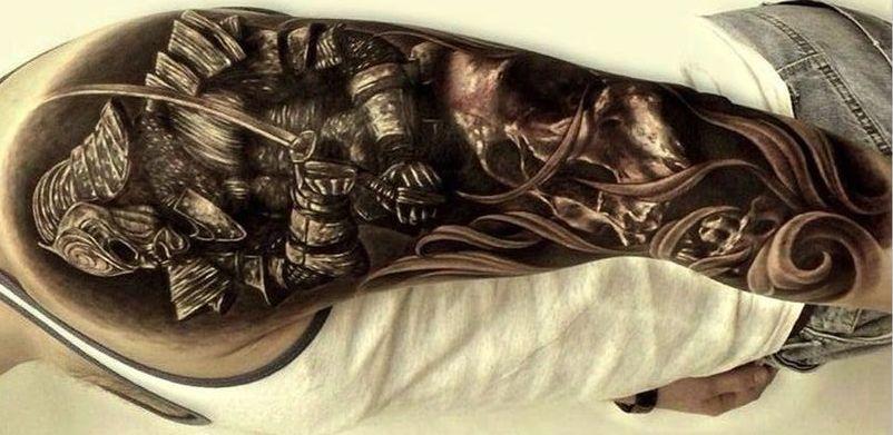 samurais guerreros 5 - tatuajes de samurai