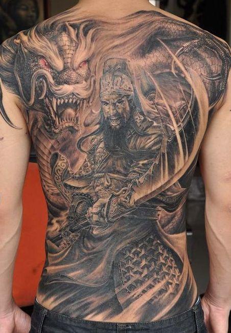 samurais y dragones 1 - tatuajes de samurai
