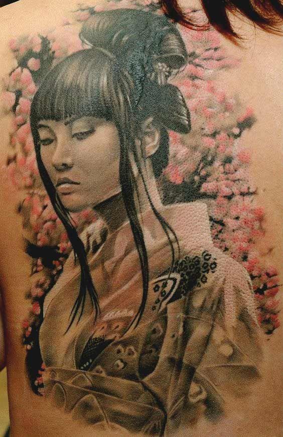 samurais y geishas 2 - tatuajes de samurai