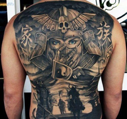 samurais y geishas 3 - tatuajes de samurai