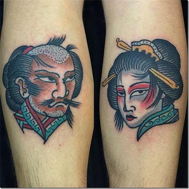 samurais y geishas