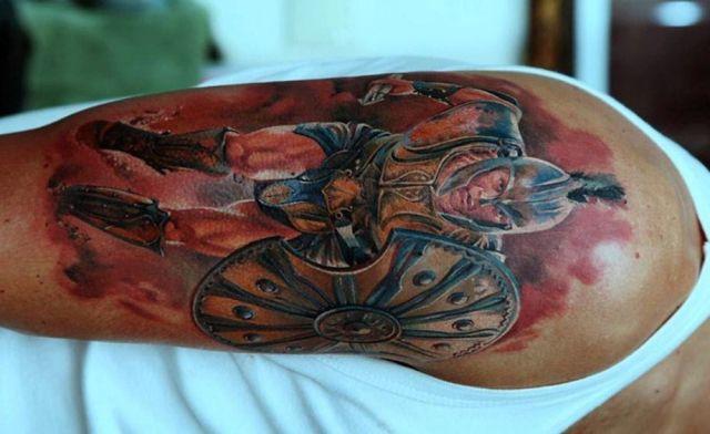 significados de lucha 2 - tatuajes con significados
