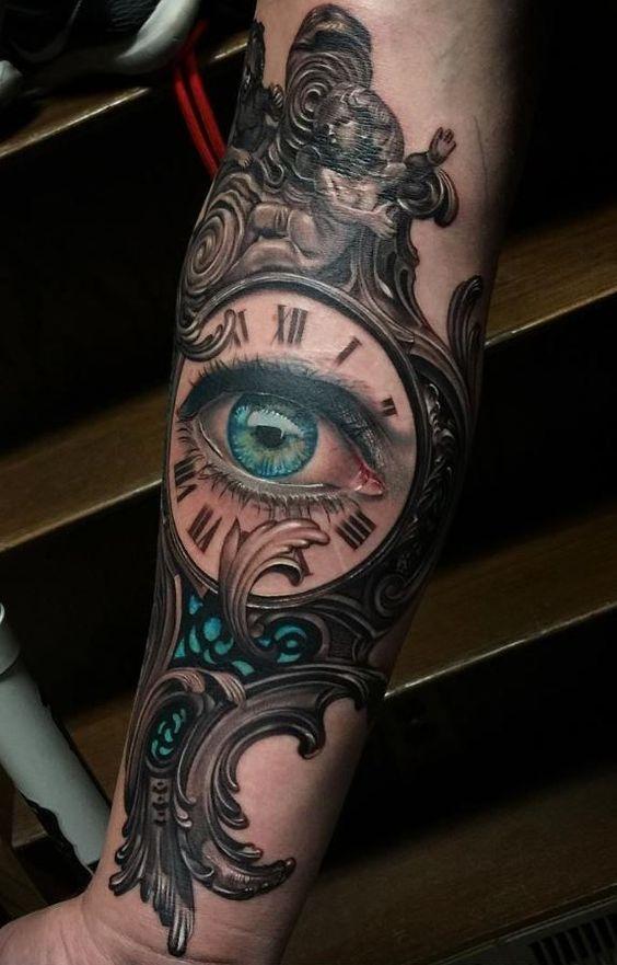 ojos con reloj 1