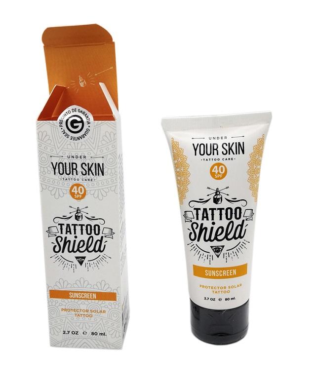 Tattoo Shield Crema Protector Solar
