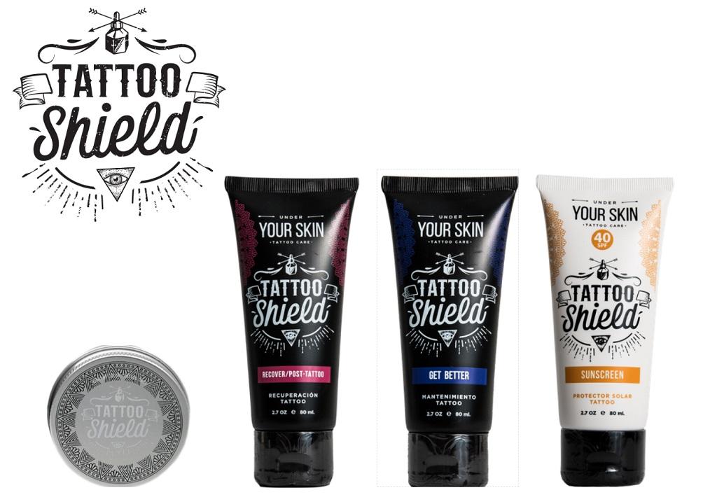 Tattoo Shield Cremas Portada -