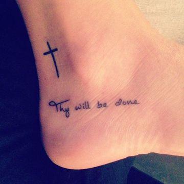 Tatuajes de cruces 4