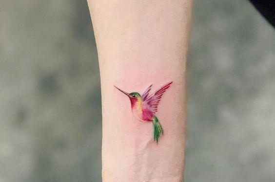 acuarela colibris 2