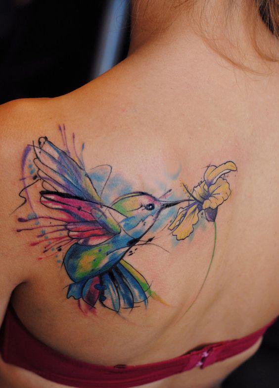 acuarela colibris 5