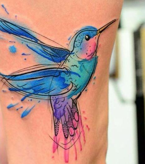 acuarela colibris 6