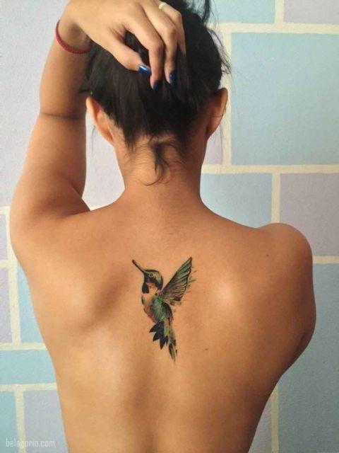 colibri en la espalda 5