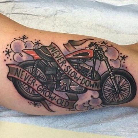 frases para motos tatuajes 2