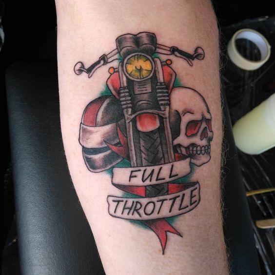frases para motos tatuajes 5