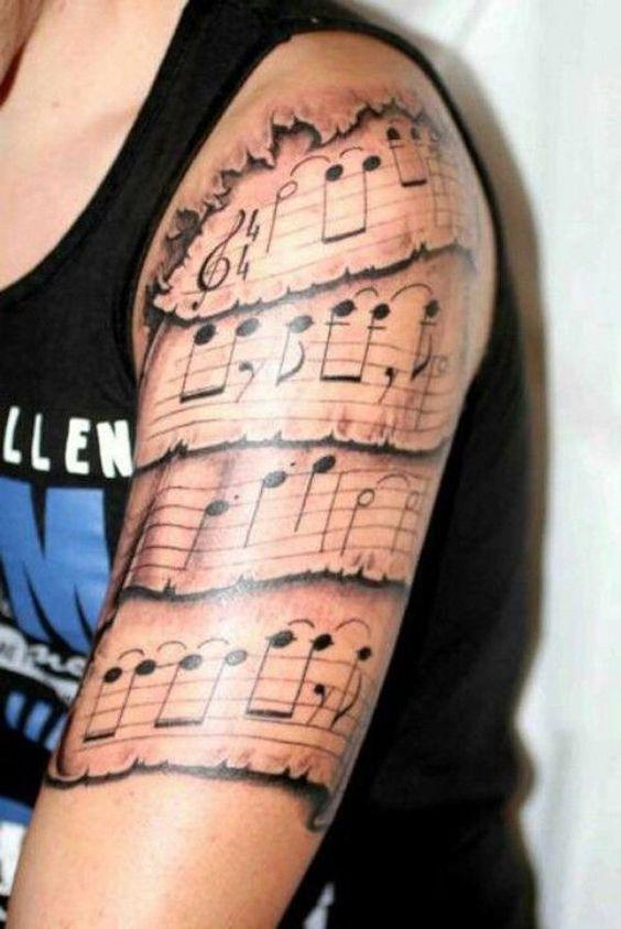 musicales en el brazo 1